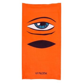 TOY MACHINE SECT EYE BALACLAVA ORANGE