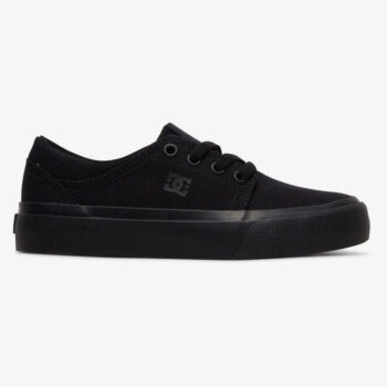 DC TRASE TX YOUTH SHOES BLACK BLACK