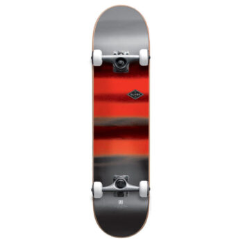 GLOBE G1 FULL ON COMPLETE SKATEBOARD CHARCOAL CHROMANTIC 8.0
