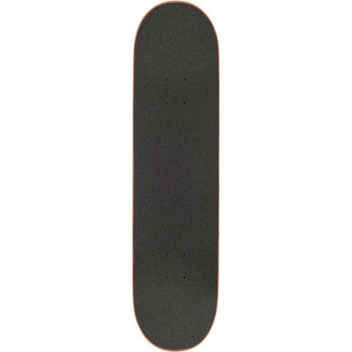 GLOBE G1 HARD LUCK COMPLETE SKATEBOARD WHITE BLACK 8.0
