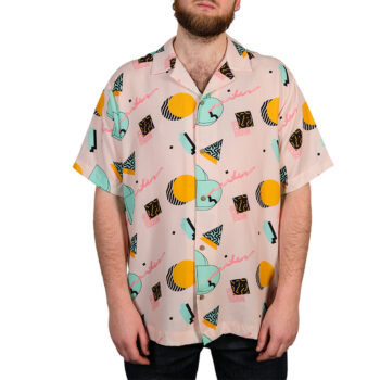 THE DUDES DD HAWAIIN SHIRT PINK