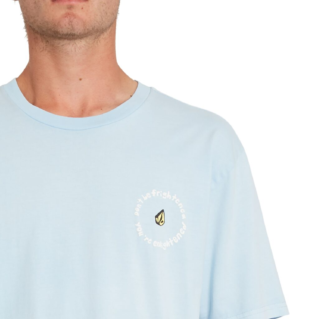 VOLCOM OZZY WRONG T-SHIRT AETHER BLUE