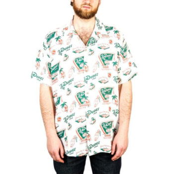 THE DUDES ROOM 69 HAWAIIN SHIRT OFF WHITE