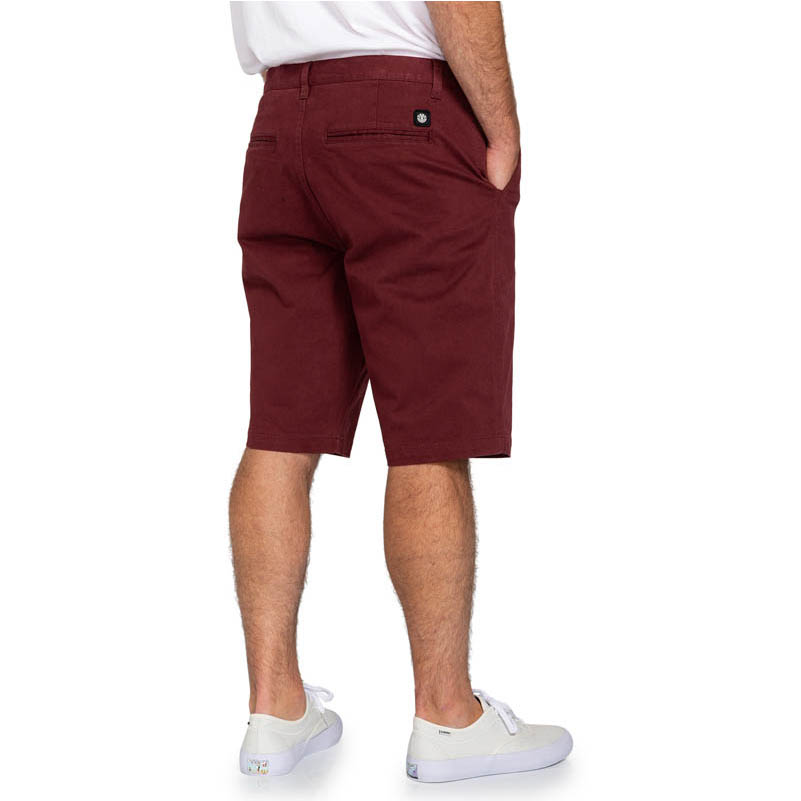 ELEMENT HOWLAND CLASSIC SHORT VINTAGE RED