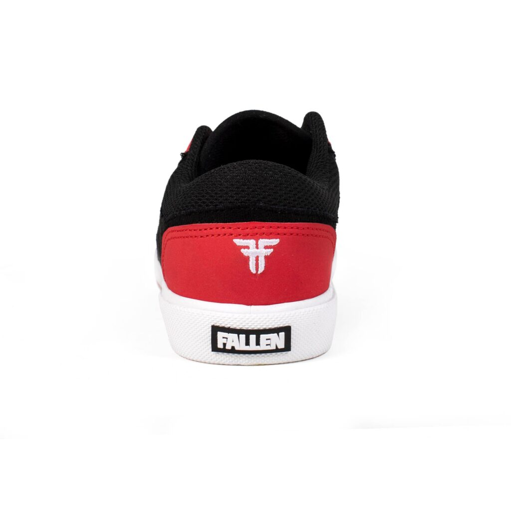 FALLEN PATRIOT YOUTH SHOES BLACK RED WHITE