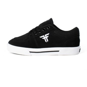 FALLEN PATRIOT YOUTH SHOES BLACK WHITE