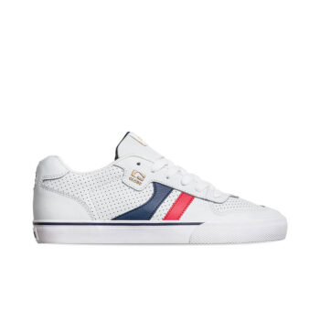 GLOBE ENCORE 2 SHOES WHITE BLUE RED
