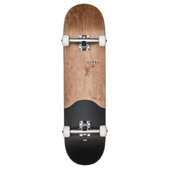 GLOBE G1 ARGO COMPLETE SKATEBOARD DARK MAPLE BLACK 8.25