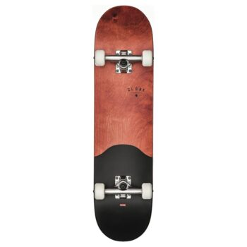 GLOBE G1 ARGO COMPLETE SKATEBOARD RED MAPLE BLACK 7.75