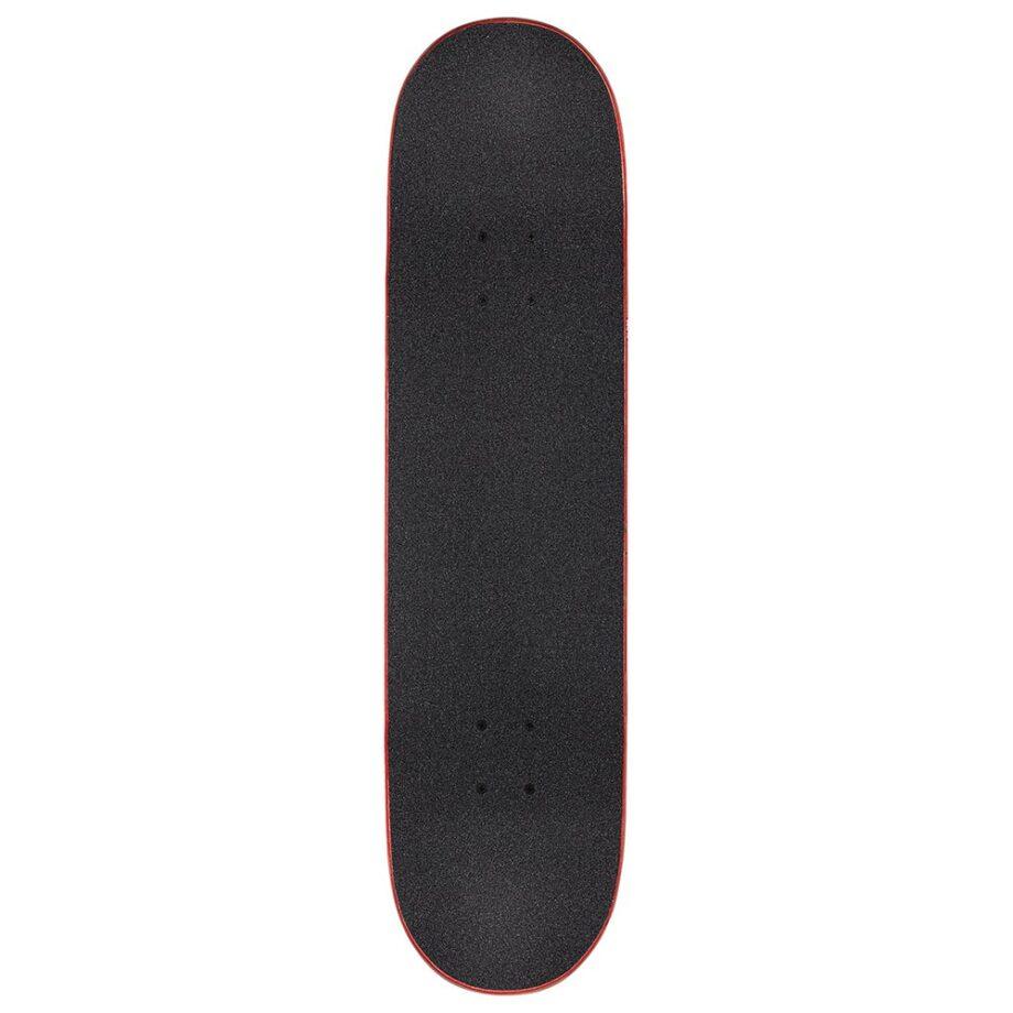 GLOBE G1 FAIRWEATHER COMPLETE SKATEBOARD BLACK RED 8.125