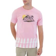 HURLEY EVERYDAY WASHED PREHISTOERIC T-SHIRT ARCTIC PUNCH
