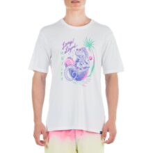 HURLEY EVERYDAY WASHED LOUNGE LIZARD T-SHIRT WHITE