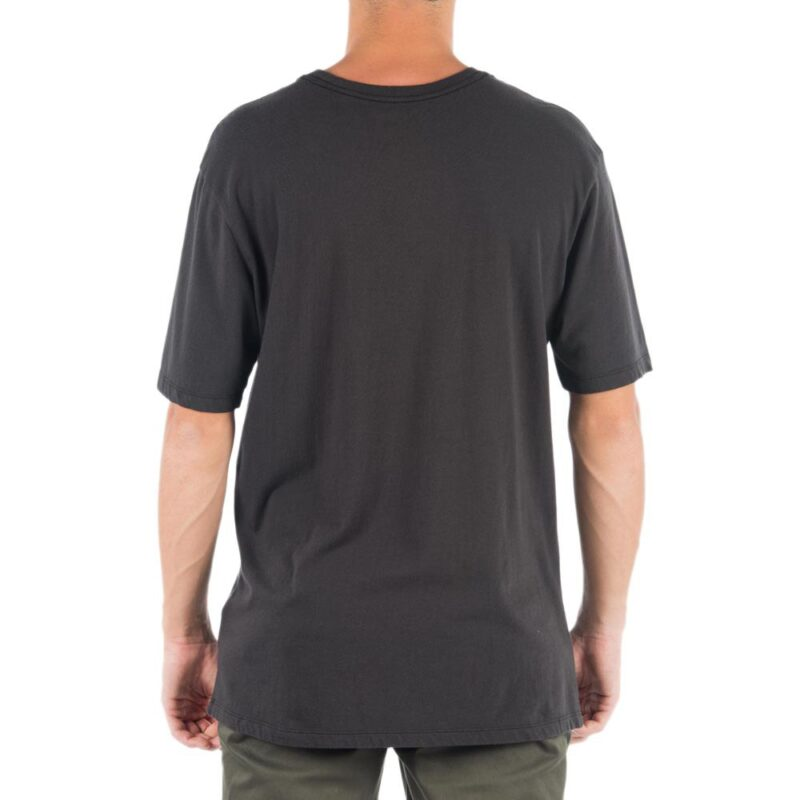 HURLEY EVERYDAY WASHED SHRED T-SHIRT BLACK