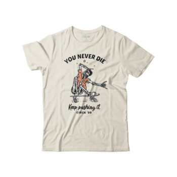 CIRCA YOU NEVER DIE T-SHIRT OFF WHITE