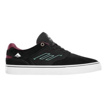 EMERICA THE LOW VULC SHOES BLACK