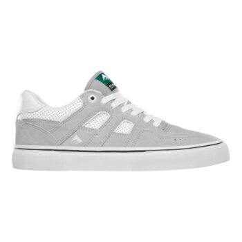 EMERICA TITL G6 VULC SHOES GREY WHITE