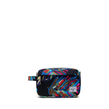 HERSCHEL CHAPTER TRAVEL KIT PAINTED PALM