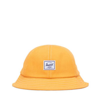 HERSCHEL HENDERSON CAP BLAZING ORANGE DENIM BLANC DE BLANC