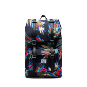 HERSCHEL LITTLE AMERICA MID VOLUME BACKPACK PAINTED PALM