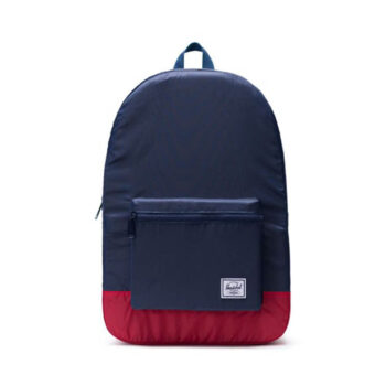 HERSCHEL PACKABLE DAYPACK NAVY RED