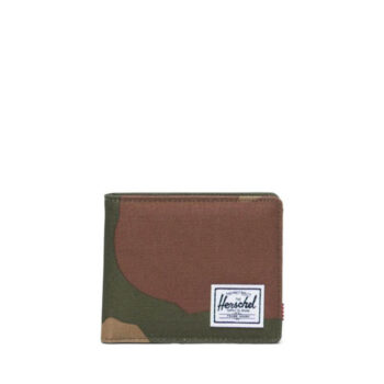 HERSCHEL ROY COIN WALLET WOODLAND CAMO