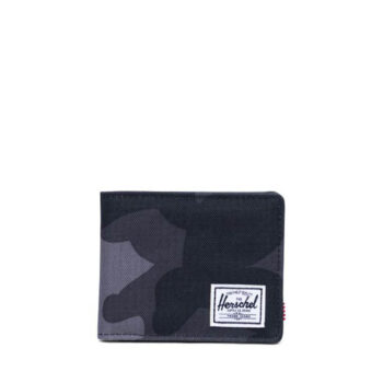 HERSCHEL ROY WALLET NIGHT CAMO