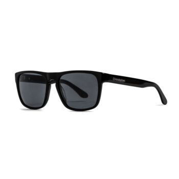 HORSEFEATHERS KEATON SUNGLASSES GLOSS BLACK GRAY