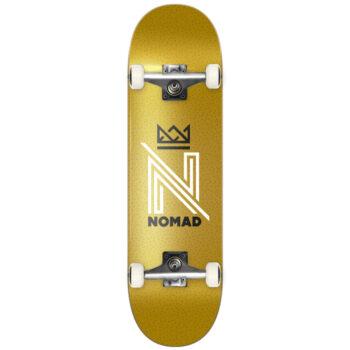 NOMAD OG LOGO COMPLETE SKATEBOARD GOLD 8.0