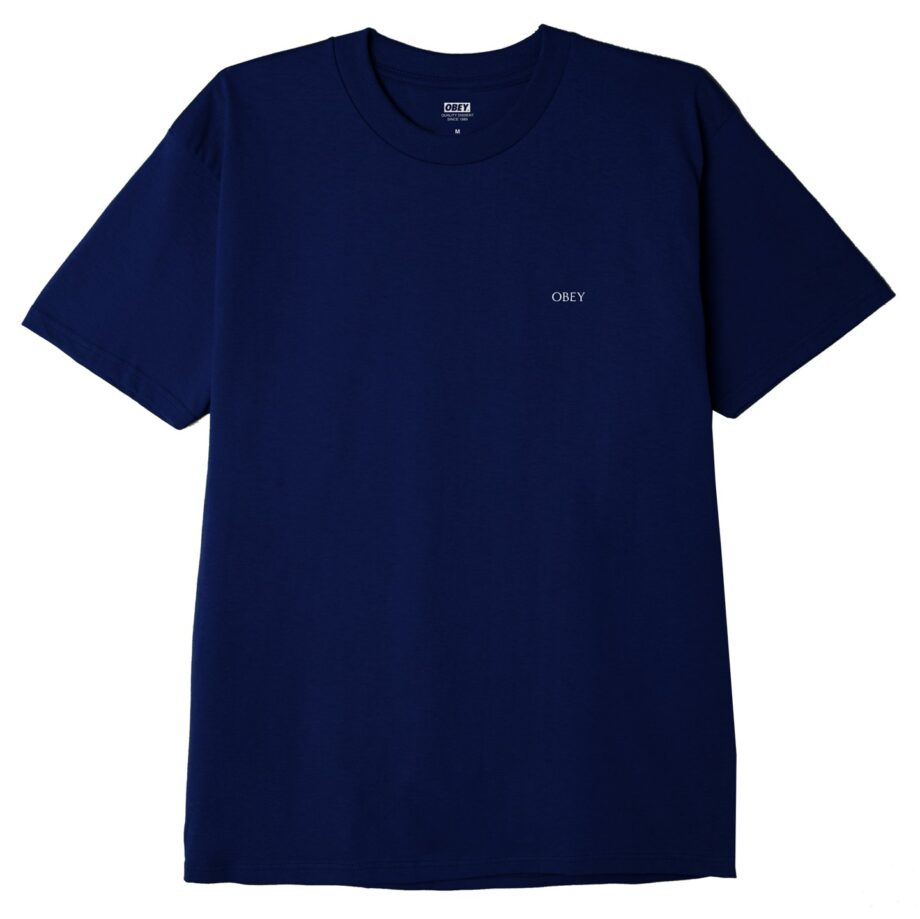 OBEY EARTH CRISIS CLASSIC T-SHIRT NAVY