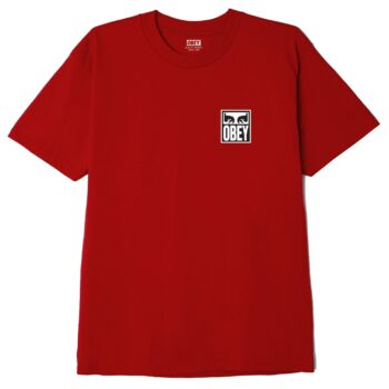 OBEY EYES ICON 2 CLASSIC T-SHIRT RED