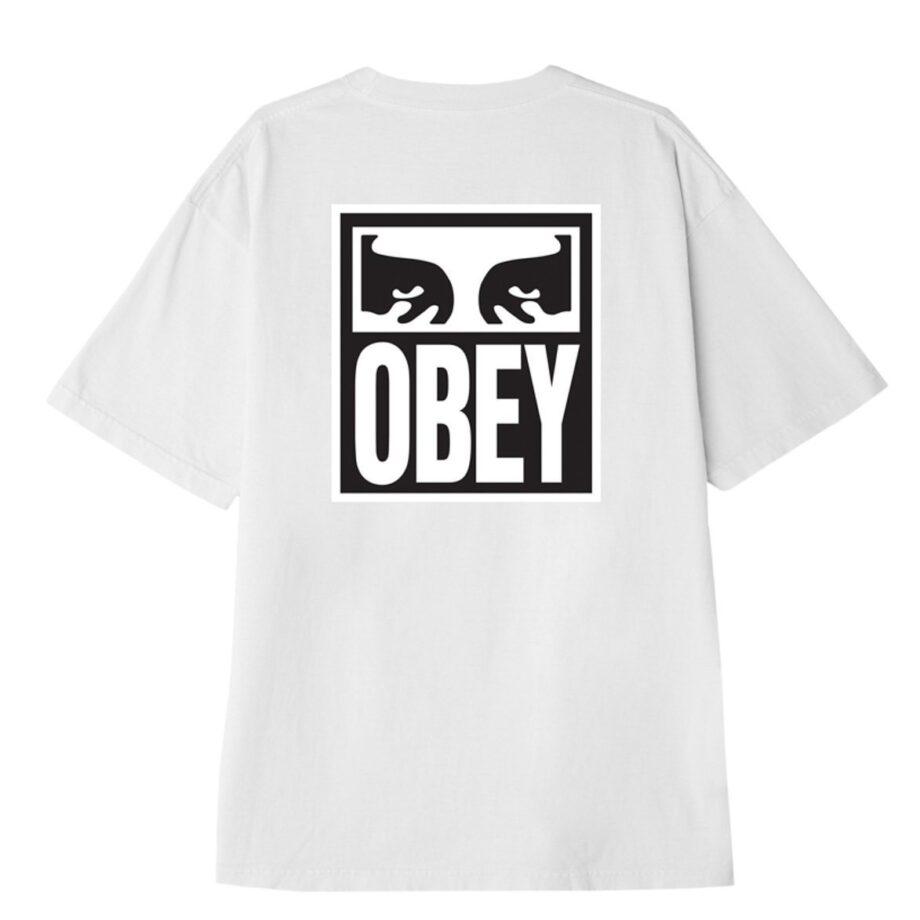 OBEY EYES ICON 2 HEAVYWEIGHT T-SHIRT WHITE
