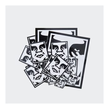 OBEY ICON FACE STICKER PACK 2 AST