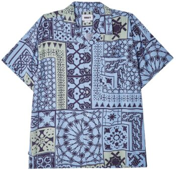 OBEY PATHOS SHIRT NAVY MULTI