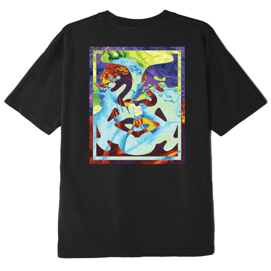 OBEY STATUE ICON CLASSIC T-SHIRT BLACK