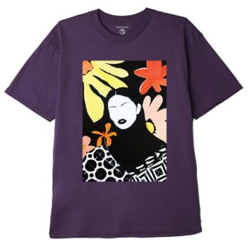 OBEY TRUTH IS BEAUTY SUSTAINABLE T-SHIRT MAUVE