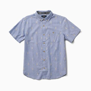 ROARK IKAT DOBBY SHIRT LIGHT BLUE
