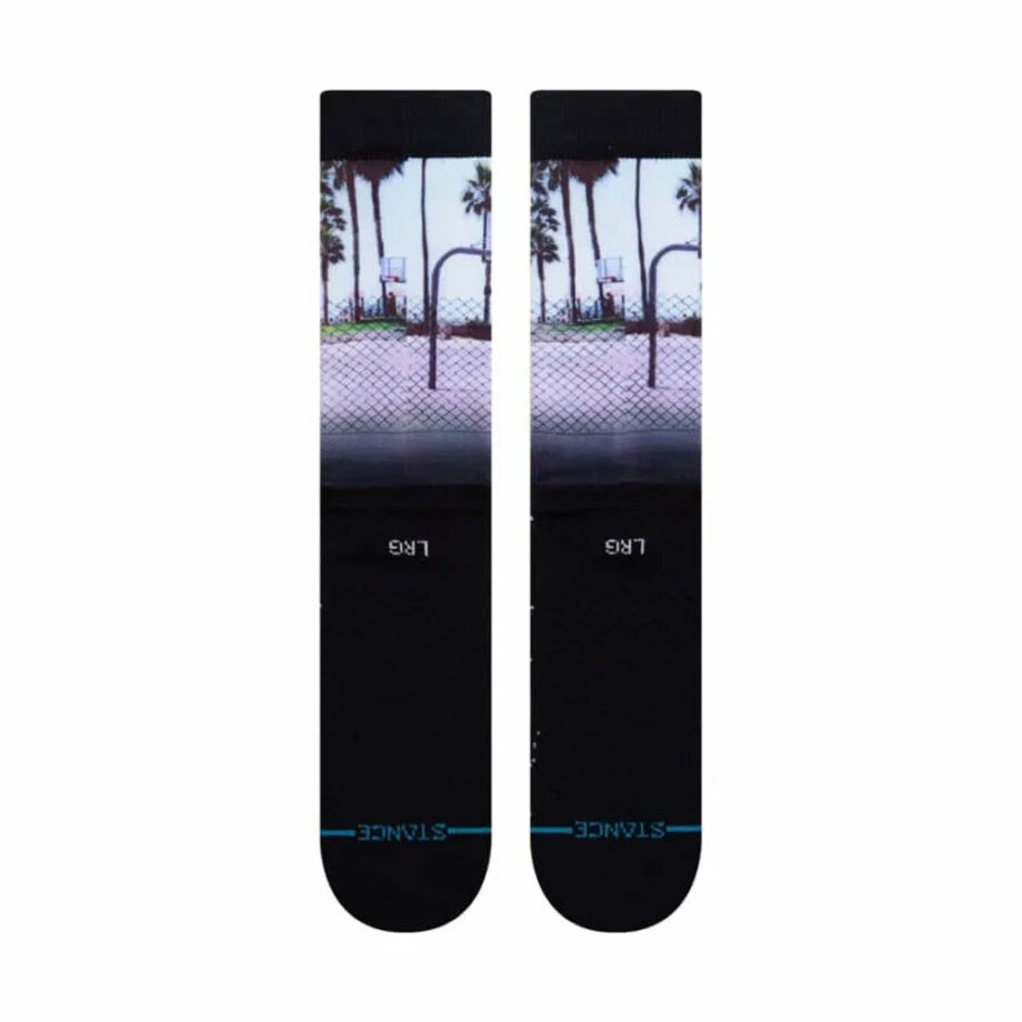 STANCE SID AND BILLY SOCKS BLACK