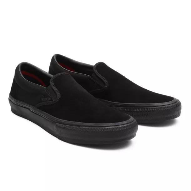 VANS SKATE SLIP ON SHOES BLACK BLACK